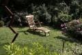Garten liegestuhl Massivholz