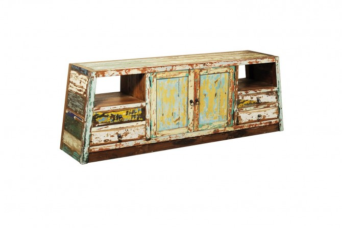 Sideboard, varna, indoormöbel, teakmöbel