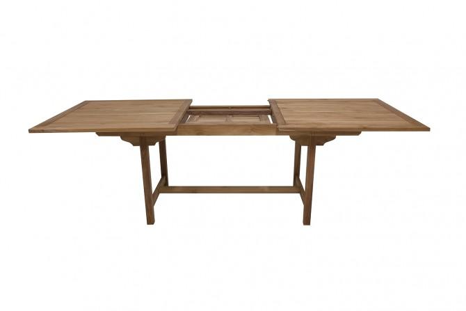 Gartentisch ausziehbar rechteckig