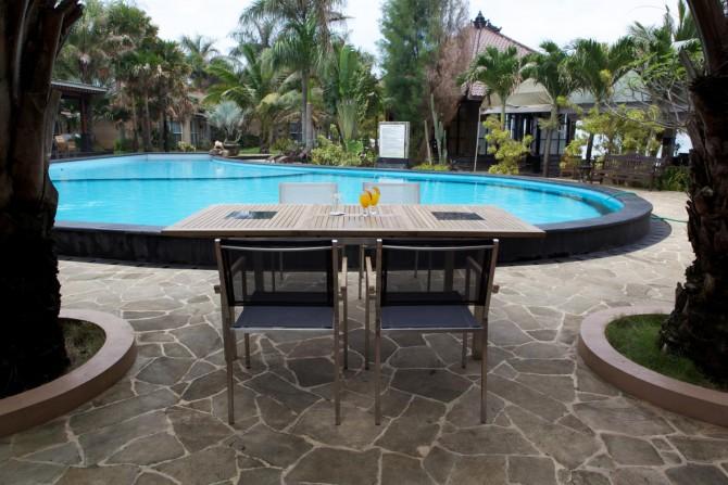 elegante Gartentisch ausziehbar