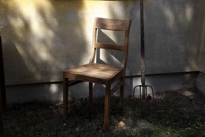 Teak Stuhl Außenmöbel