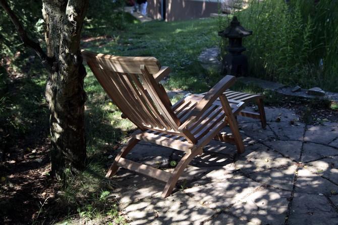 Garten liege stuhl wetterfest