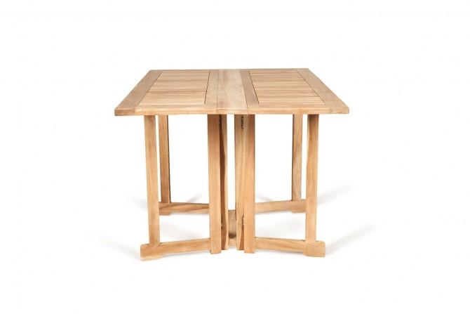 Gartentisch butterfly, teakmöbel, gartenmöbel, aus teakholz, klappbar
