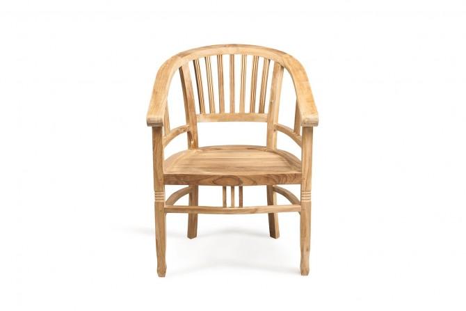 Massivholz Stuhl wintertauglich