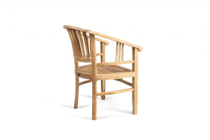 Stuhl Batavia mit Armlehnen