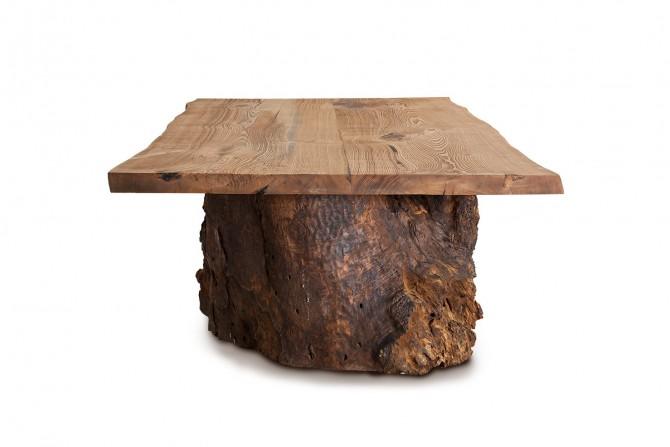 Massivholztisch Teak