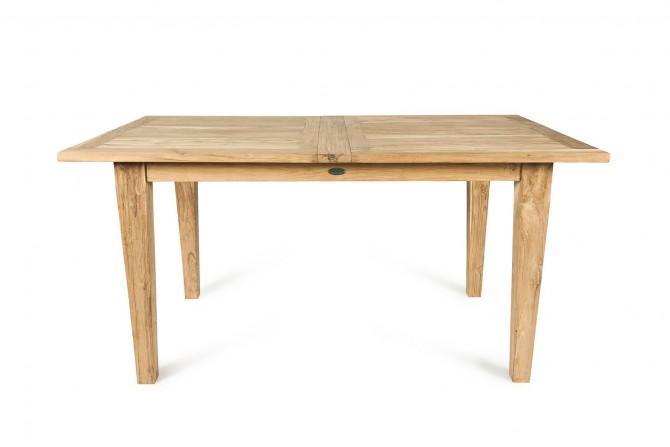 Ausziehbarer Teakholz Tisch