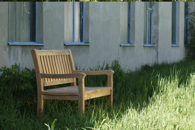 Sitzbank Rivoli mit Armlehne