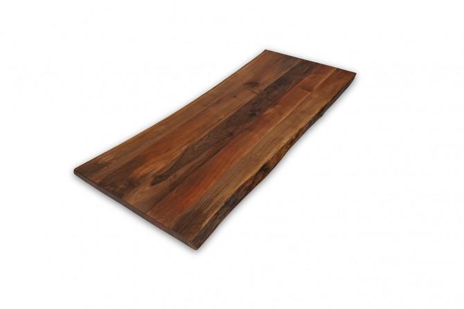 nustischplatte, nusstisch,esstisch nussholz, esstisch nach mass, nusstisch baumkante,
