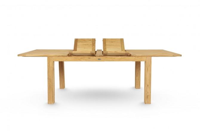 Tisch zum Vergrössern, Tisch zum Ausziehen, Tisch Ausziehbar, Tisch 2 mal vergrössern, Massivholz Tisch ausziehbar, Echtholztisch mir Vergröserungsplatten, Tisch für grosse Familie, Tisch Naturholz, Familientisch, Holztisch für viele Gaeste