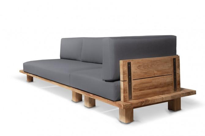 loungemöbel , gartenmöbel aus teakholz