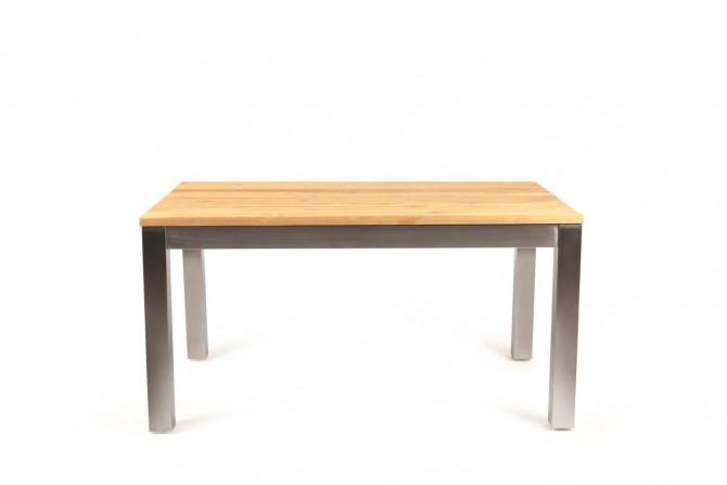 Gartentisch, edelstahl, teakmöbel, gartenmöbel, ausziehbar