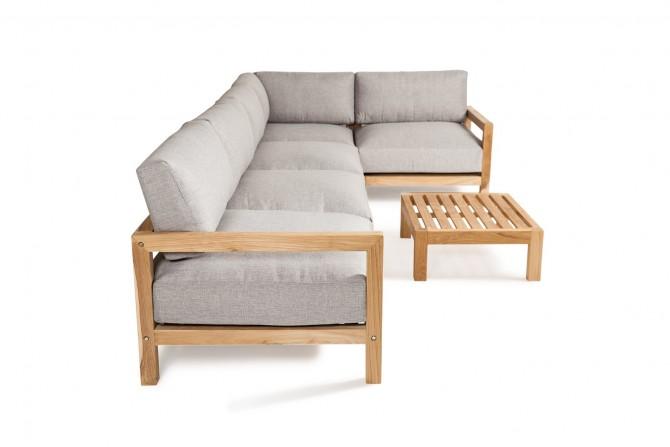 Lounge Teakholz beständig