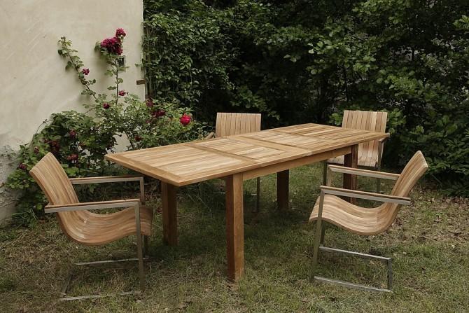 Gartentisch Phönix Doppel Ausziehbar