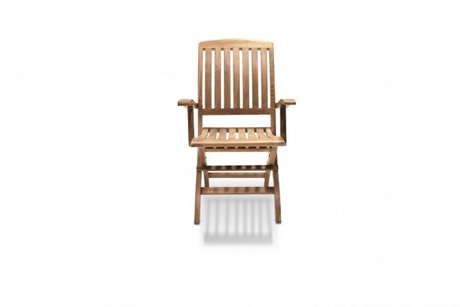 Massivholz Stuhl Teak markadi