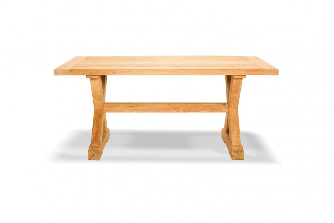 Gartentisch xera, teakmöbel, massivholz, gartenmöbel, aus teakholz