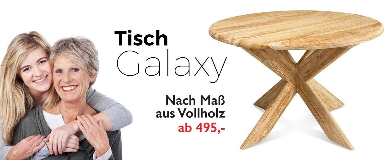 Tisch Galaxy Teak